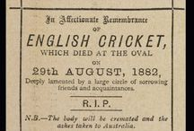 Ashes Cricket / The Ashes - England versus Australia since 1882.