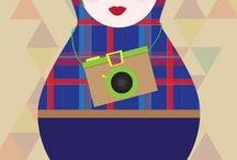 a russian doll a day keeps the dullness away by Ioana Negulescu