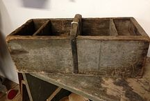 Primitives, smalls, crates, chicken coops and cubbies! / by Kristin Larkin