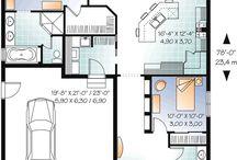 House building floor plans