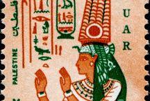 illustration - stamps