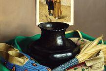 Native American Theme in ART. Still Life(Fine Art).