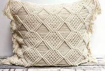 macramé pillow