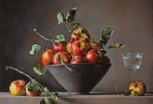 Paintings: still life still alive / My preferred paintings pinned from web world