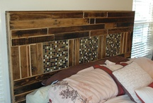 reclaimed pallets / Projects made from reclaimed supplies to represent early american construction. Please let me know if you like what you see! Have a project in mind? let me know...