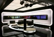 television broadcast office
