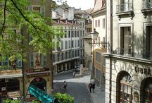 Charming Geneva / The seat of countless international organizations, Geneva boasts enormous international influence - we love its charming streets and locations!