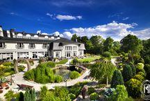 Magiczny Ogród / Magical Garden / Urocze alejki, soczysta zieleń, piękno natury. Ogród Rezydencja Luxury Hotel**** - miejsce idealne na bankiet, grill... zaślubiny!