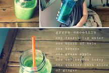 Thirsty! / Drinks and Smoothie recipes!