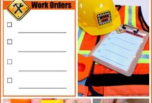 CONSTRUCTION WORKER PARTY / Birthday ideas