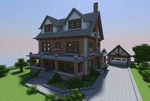 Minecraft Houses / by Julieanne Cole