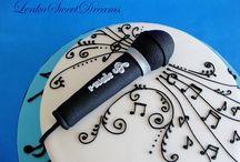 Music cakes