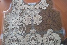Russian crochet clothes / Clothes with irish crochet