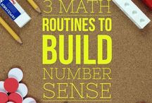 Numeracy / Great ideas for teaching numberacy in the Primary Classroom