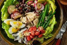 Piatti decorati vegetali