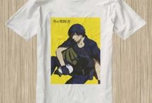Darker And Then Black Anime Tshirt