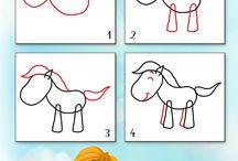 apprendre a dessiner enfants