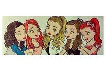 Ariana drawing / Ariana drawing