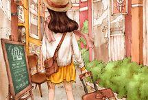 Aepool Ilustrações