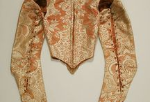 17th century Corsets,bodice and stays