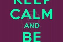 Keep clam and / Keep clam and