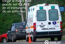 Rastreo satelital para ambulancias