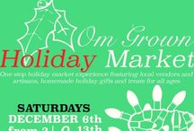 Om Grown Holiday Market 2014