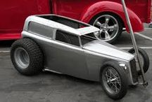 Hot rod go-karts