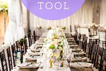 TIps for planning a wedding / checklists, ideas, and more