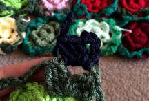 haken / alles over haken, kleurencombinaties haken / by Kikie