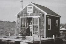 Houses at sea