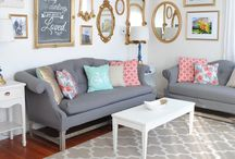 Grey Couch Coolness