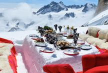 Dinner with a view / A feast for all the senses. Combine top notch dining with mesmerising views