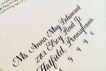 Calligraphy / by Emma Richter