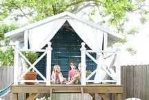 Små hagehus og hytter
