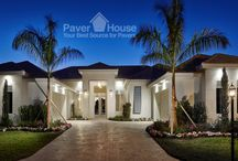 Improving your curb appeal with paver / Improving Your Curb Appeal with pavers is one of the best ways to increase your home value. Learn how to improve your curb appeal with Paver House blog post. http://www.paverhouse.com/improving-your-curb-appeal-with-pavers/