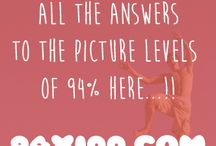 Images 94% - English / Here you have all the answers of the images levels of the game 94%