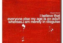 words of wisdom / by lucy wilson