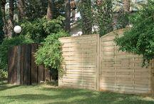 panel para jardin