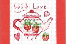 cross-stitching fool! / by Robin Allen Crouch