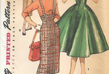 Vintage Clothes & Sewing Patterns