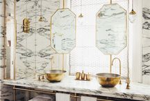 Washstand marble