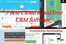 Best 5 cloud based free crm software