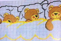 gráficos de ponto cruz