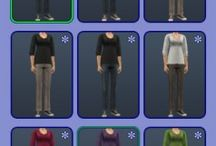 TS2 Default Replacements - Clothing