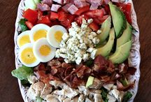 """Recipes: Salads / Salads to satisfy your """"crunchy"""" side. / by Chic Galleria"""