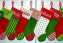Christmas Stockings / by Dina Anderson