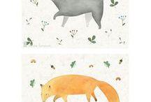 лесные звери