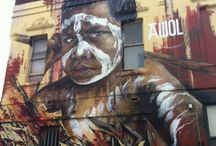 Melbourne Street art / Melbourne has some amazing street art - next time you are in town check them out