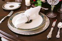 Our Tableware In Action! / Royal Doulton Carlyle / by Classic Replacements